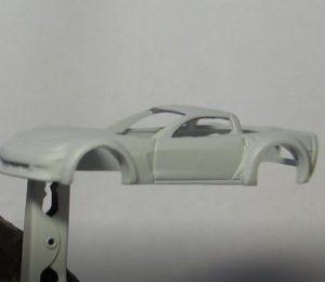 paint stripping a hot wheels car