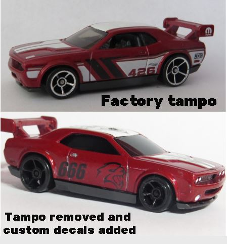 How to make a Decal for a Hot Wheels Die Cast Car