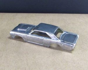 wire polished hot wheels