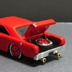 How to make a opening hood or trunk on a hot wheels